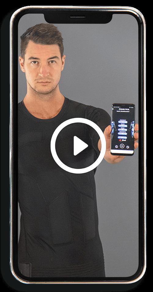 Dein EMS SMART WORKOUT für Zuhause - Mobile Trainingsvideo